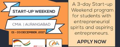 7 reasons why students and aspiring entrepreneurs should attend GIZCMIAs Startup Weekend in Aurangabad